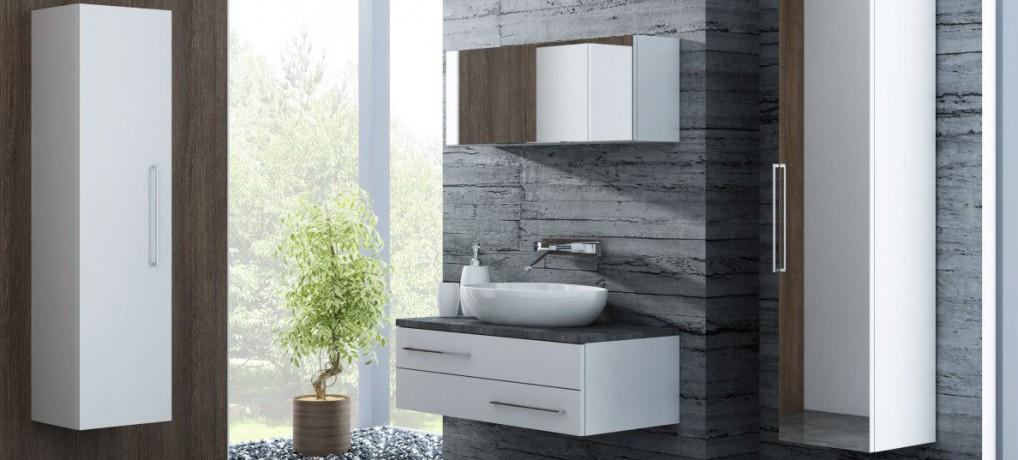 Białe meble do łazienki – meble Susane marki Antado