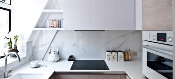 Jak urządzić małą kuchnię? fot.: Black and Milk Residential