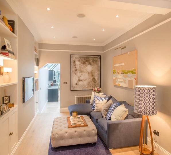 Jak urządzić mały pokój dzienny? fot.: Inigo & Co.