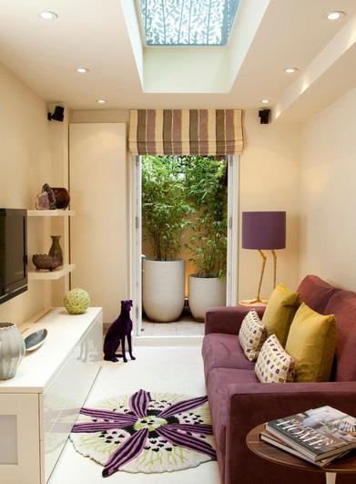 Jak urządzić mały pokój dzienny? fot.: Helene Dabrowski Interiors