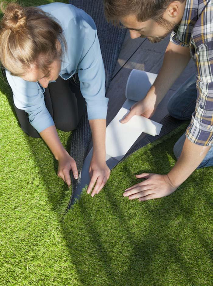 Sztuczna trawa MultiGrass  - ciekawy sposób na aranżację tarasu