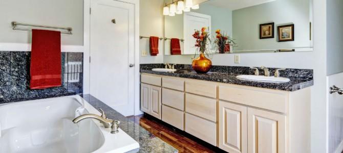 Granit w łazience – inspiracja naturą